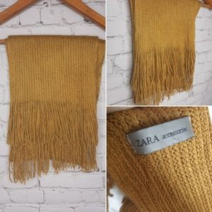 Zara accessories scarf